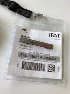 IFAT 2018_Nehlsen_Ausstellerausweis